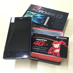 Andromax Q & Smartfren Sim Card