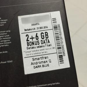 Bonus 8GB selama 7 hari