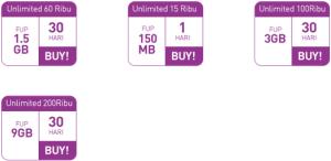 Paket Data Smartfren Prabayar - Unlimited